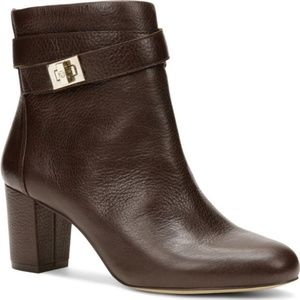 Ann Taylor Delisa Buckle Leather Booties